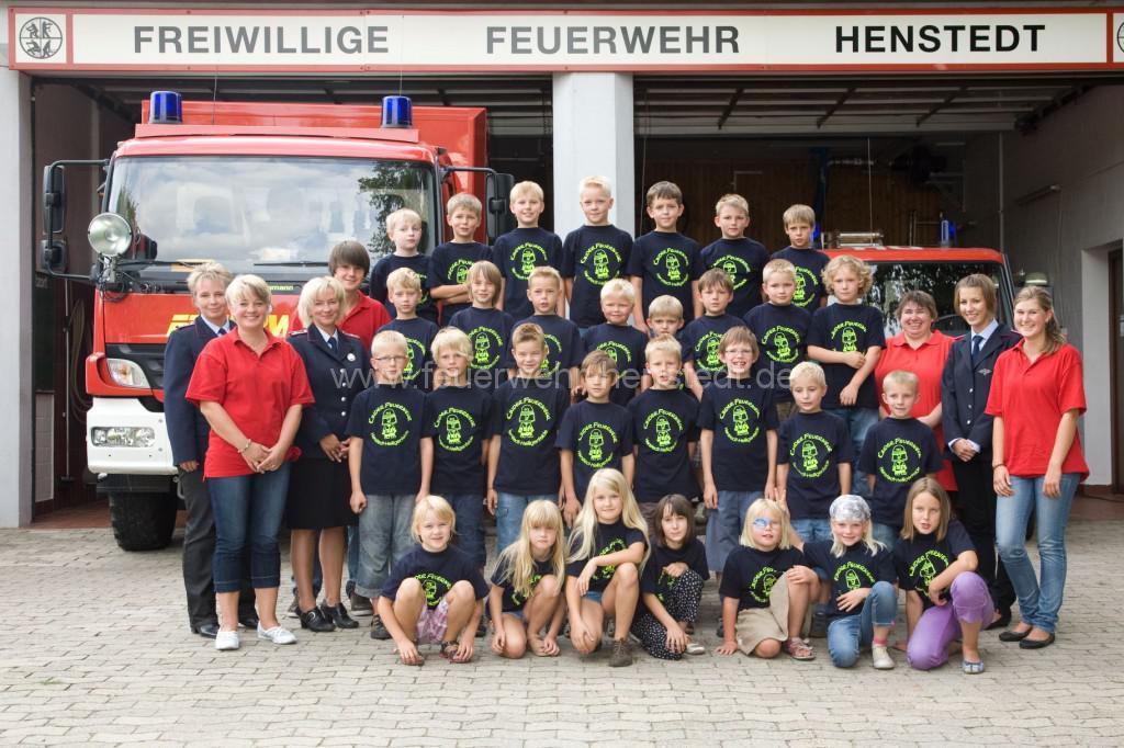 Kinderfeuerwehr Henstedt-Heiligenfelde 2010