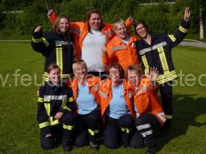 Damengruppe beim Stadtpokal 2015
